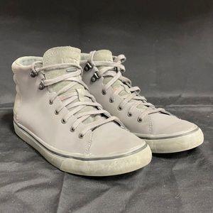UGG Men's Grey Waterproof Ankle Shoes 8
